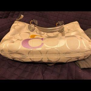Coach Bags - Must Go! COACH Signature C Multicolor Shoulder Bag